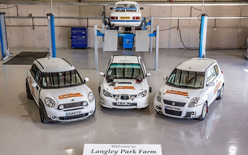 Langley Park Rally School workshop