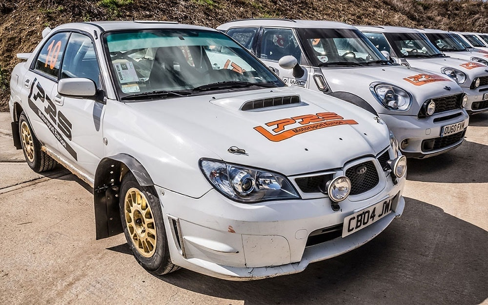 Langley Park Rally School Subaru